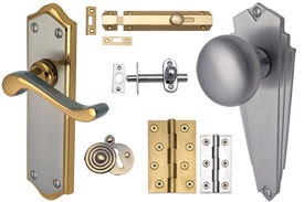 Handles, Locks and Hinges